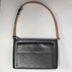 Louis Vuitton gun metal Allston monogram matte